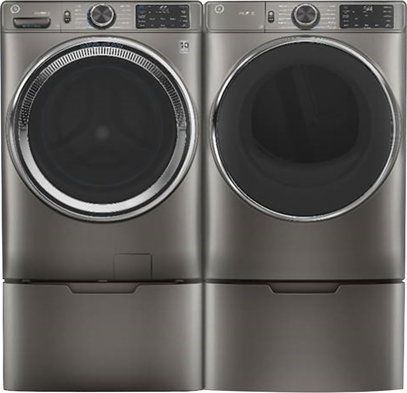 GE Appliance 7.8 cu. ft. capacity electric dryer with PowerSteam, Wrinkle Care and Damp Alert, sanitize cycle and WiFi