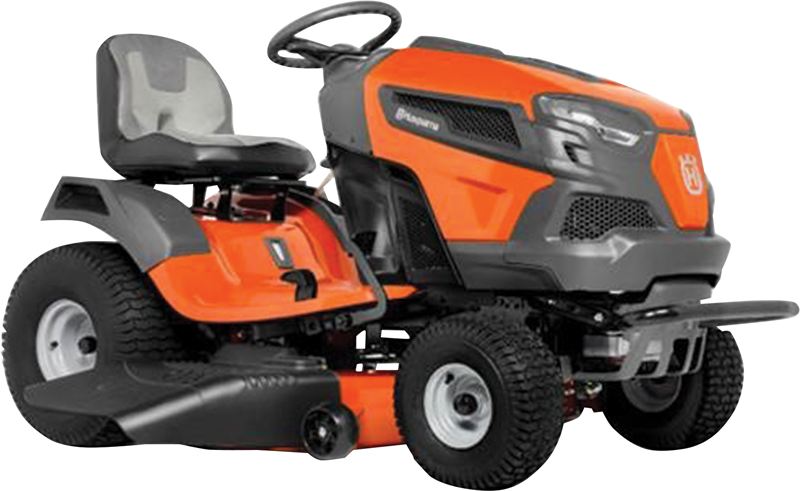 Husqvarna 22-hp Kohler 7000 Series V-Twin engine 46-in. reinforced deck Foot Pedal Automatic Transmission with Locking Differential High Back 3 Year Manufacturer warranty