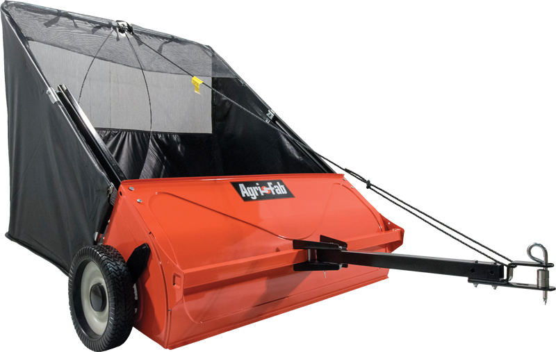 Agri-Fab 42-In. tow-behind lawn sweeper