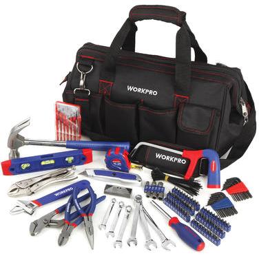 WorkPro 156-pc. tool repair set