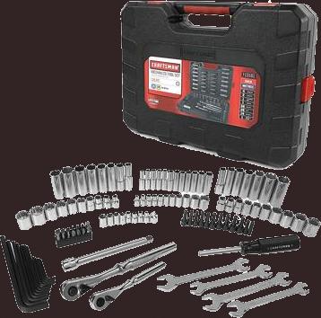 Craftsman 115-pc.mechanics tool set